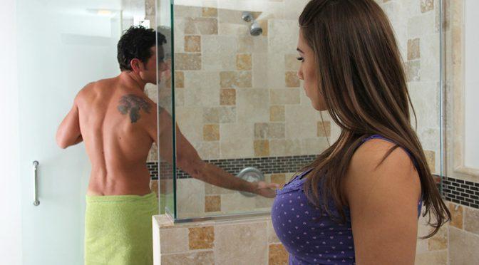 Natasha Vega in  Mygirlfriendsbustyfriend Natasha Vega & Ryan Driller October 19, 2012  American, Cum On Tits