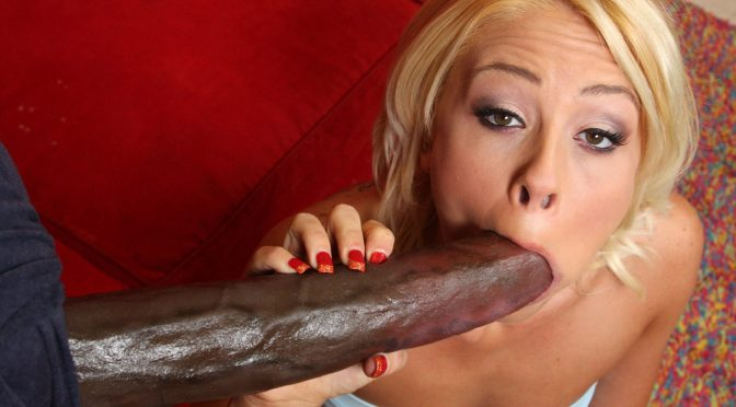 Brittany Angel in  Freaksofcock Kentucky Fucked Facial October 02, 2008  Iinterracial. Big Dick