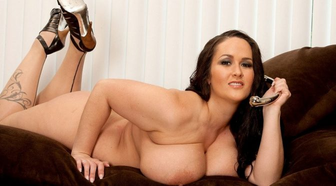 Carmella Bing in  Plumperpass Plumper Play Time July 19, 2011  Big Belly, Big Tits