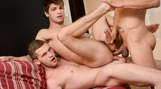 Dylan Knight in  Jizzorgy My Neighbor's Son Part 4 October 26, 2015  Gay Porn