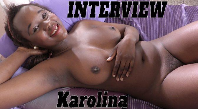 Karolina in  Girlsoutwest Karolina – Interview July 27, 2017  Big Boobs, BTS