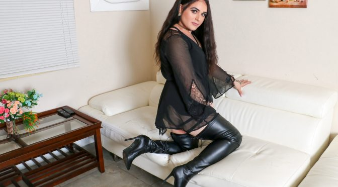 Kayla in  Femoutxxx Sexy Kayla Makes Her Debut! September 14, 2018  Transsexual