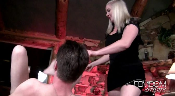 Lexi Sindel in  Femdomempire Double cum blast December 01, 2012  Handjobs, Cum Eating