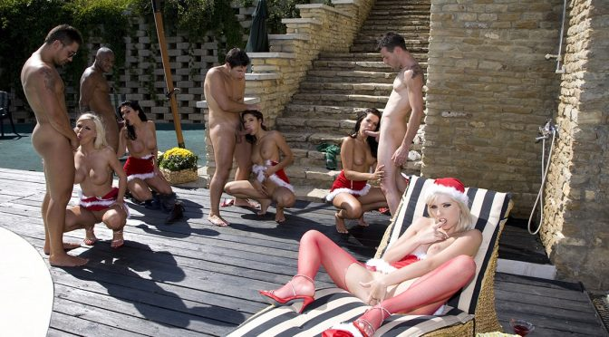 Aletta Ocean in  Private Lucy Belle Stella Delcroix and Aletta Ocean Holiday Gang Bang January 31, 2011  HD, Deep Throat