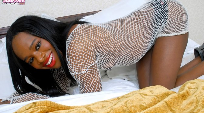 Madison in  Blacktgirls Beautiful Madison Cums For You! December 21, 2010  Transsexual