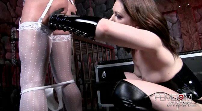 Sarah Shevon in  Femdomempire Anal Violation September 24, 2012  Humiliation, Sissy