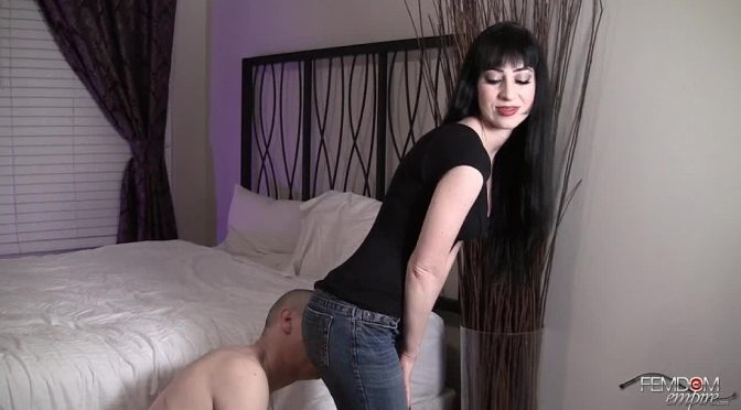 Mina Thorne in  Femdomempire Denim Worship December 12, 2011  Ass Worship