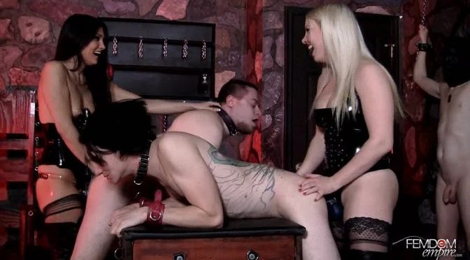 Jade Indica in  Femdomempire Strap-on contest February 09, 2012  Blonde
