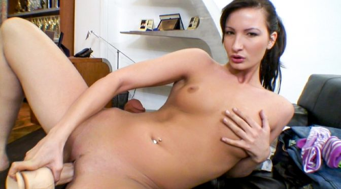 Bailey in  Evilangel Rocco's POV #06 August 27, 2012  Natural Tits, Deepthroat