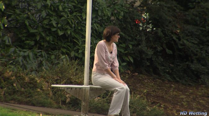 Hdwetting Waiting in Public February 02, 2015  Outdoors