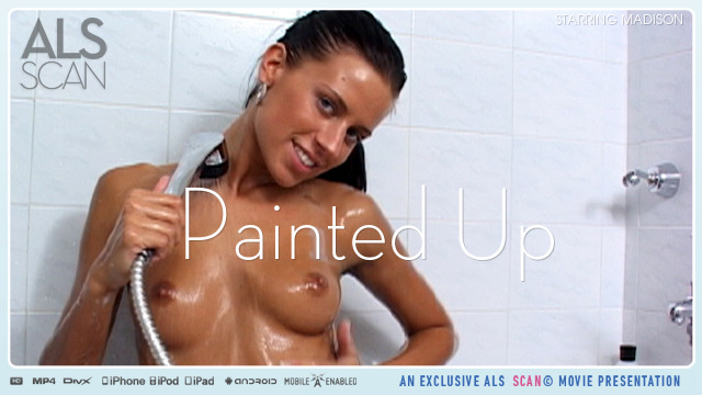 Madison in  Alsscan Painted Up October 05, 2009  Dildo