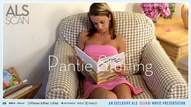 Paris Parker in  Alsscan Pantie Stuffing April 19, 2010  Dildo