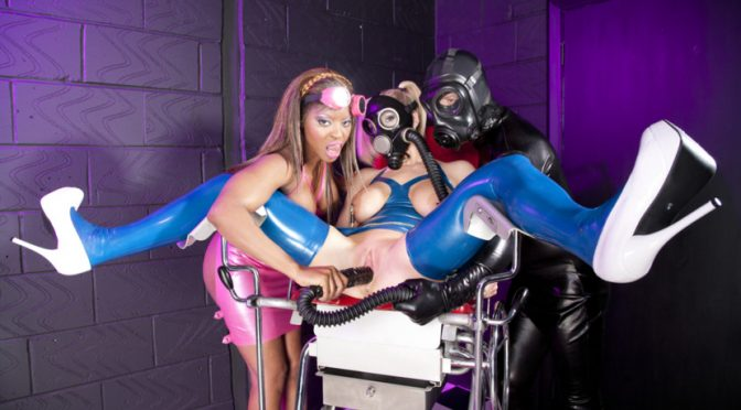 Ian Tate in  Kink_harmonyfetish Latex Lezzas and a Horny Gimp May 25, 2018  Facial, Thirdparty