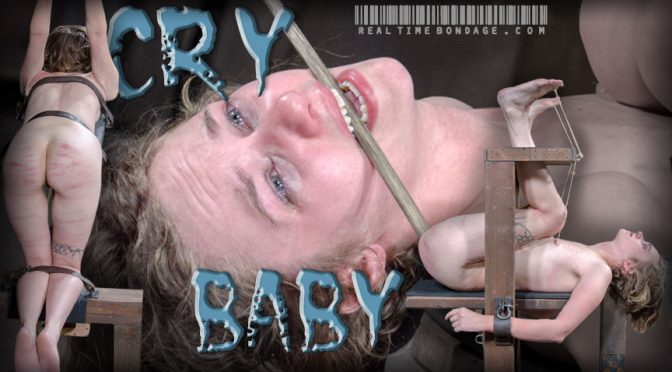 Mercy West in  Realtimebondage Crybaby Part 3 August 01, 2015  Foot Torture, Begging