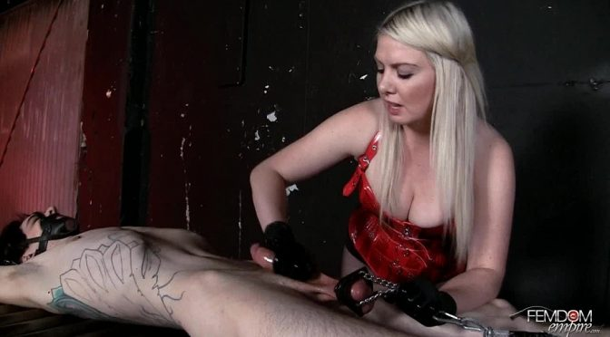 Lexi Sindel in  Femdomempire Drain every drop December 08, 2011  CBT