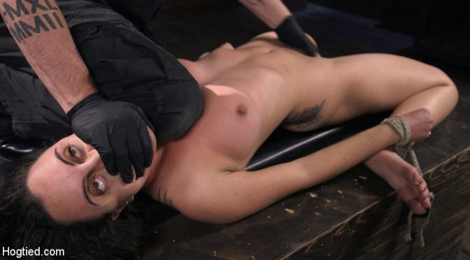 The Pope in  Hogtied Roxanne Rae is Back to Suffer for The Pope March 15, 2018  Bdsm, Bondage