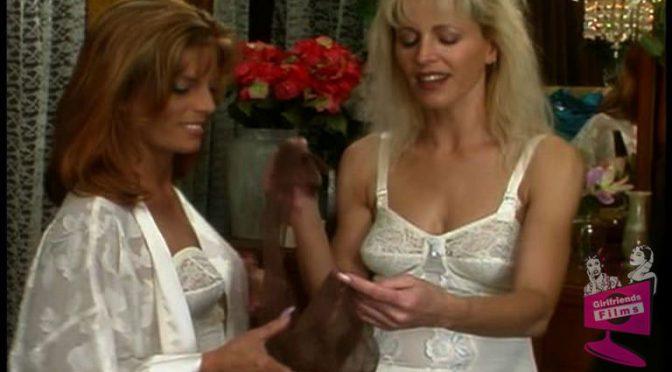 Nicole Moore in  Girlfriendsfilms Dressing Room Lingerie #01, Scene #03 January 06, 2004  Strap On, Toys