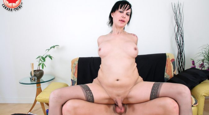 Alyssa in  Shemale.porn Power Bottom Alyssa Loves It March 09, 2015  Transsexual