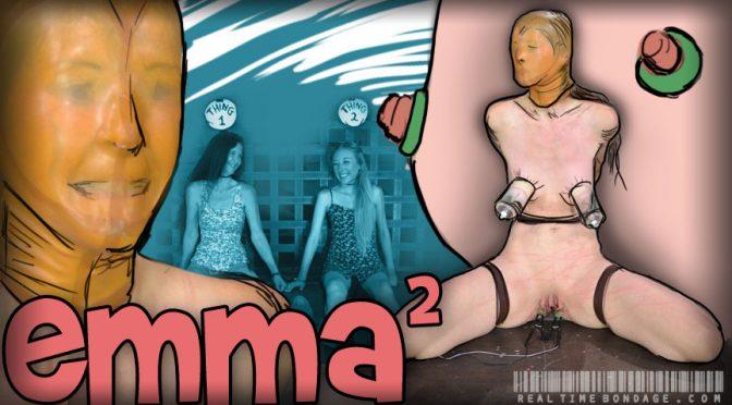 Paintoy Emma in  Realtimebondage Emma 2 Part 1 July 19, 2014  High Heels, Marks